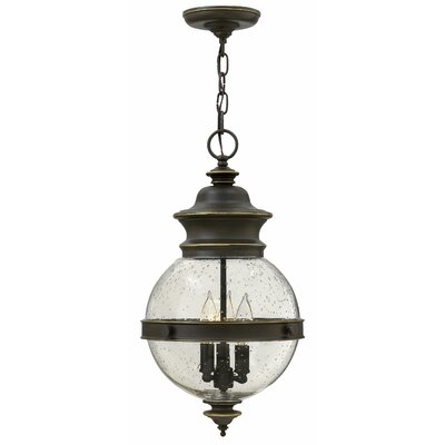 Pumphrey 3-Light Globe Pendant