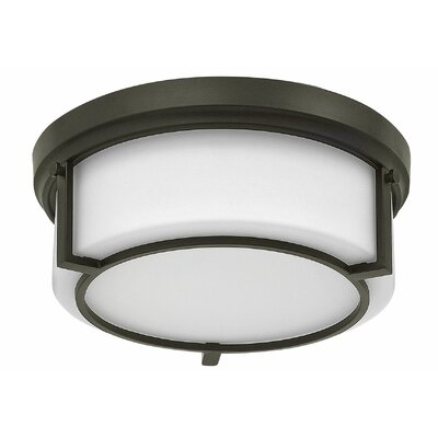 Weston 2-Light Flush Mount Finish: Buckeye Bronze