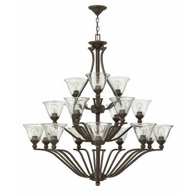 Bolla 18-Light Shaded Chandelier