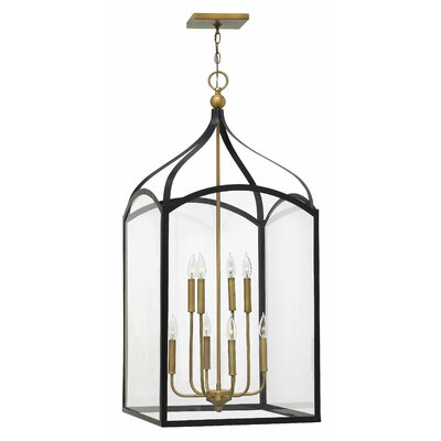 Jeremie 8-Light Foyer Pendant Finish: Bronze