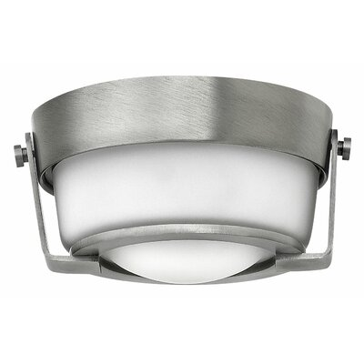 Hathaway 1-Light Flush Mount Finish: Antique Nickel