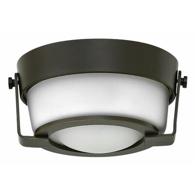 Hathaway 1-Light Flush Mount Finish: Olde Bronze