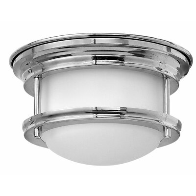 Hadley 1-Light Flush Mount Finish: Chrome
