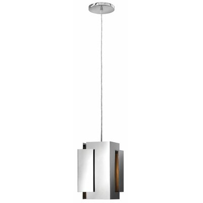 Stratus 1-Light Mini Pendant Finish: Polished Nickel