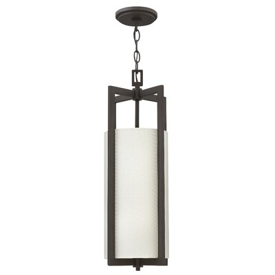 Hampton 1-Light Mini Pendant Finish: Buckeye Bronze, Bulb Type: 100W Medium