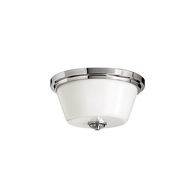 Avon Bath 2-Light Flush Mount Finish: Chrome, Bulb Type: FSI