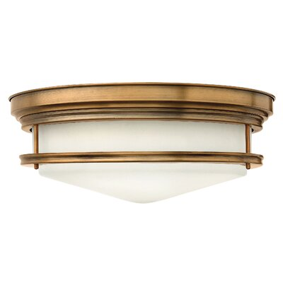 Byford 4-Light Foyer Flush Mount Finish: Brushed Caramel, Bulb Type: Incandescent