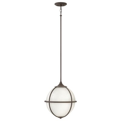 Odeon 3-Light Mini Pendant Finish: Oil Rubbed Bronze