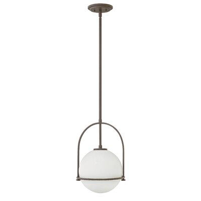 Somerset 1-Light Globe Pendant Finish: Buckeye Bronze