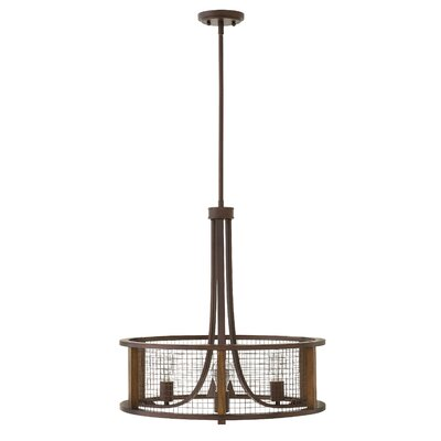 Fifi 3-Light Drum Chandelier