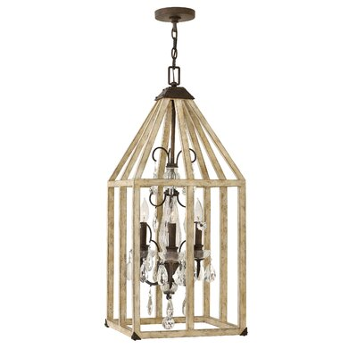 Emilie 3-Light Foyer Pendant