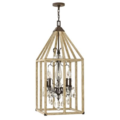 Emilie 4-Light Foyer Pendant