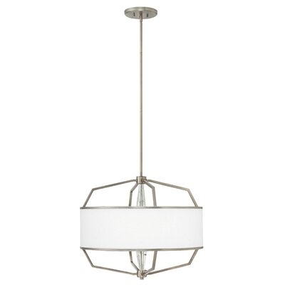 Daye 4-Light Foyer Pendant Size: 20.75 H x 24 W x 24 D
