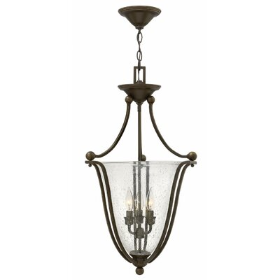 Bolla 3-Light Foyer Pendant