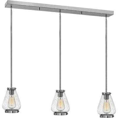 Finley 3-Light Pendant Finish: Chrome