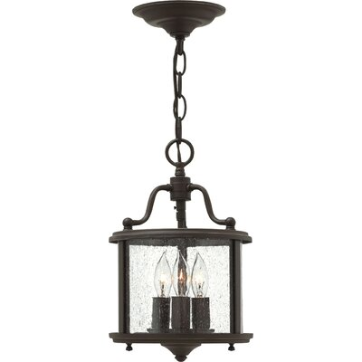 Gentry 3-Light Foyer Pendant