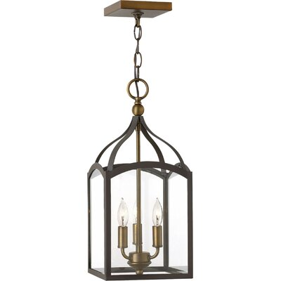 Clarendon 3-Light Foyer Pendant