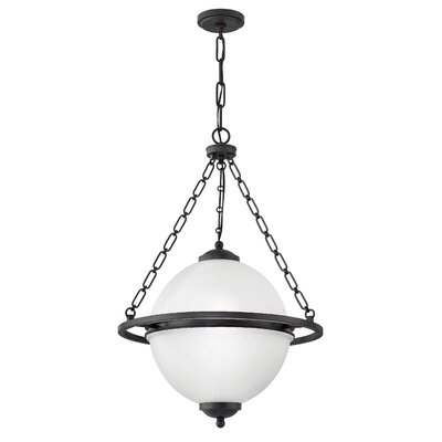 Darlene Single Tier 3-Light Globe Pendant