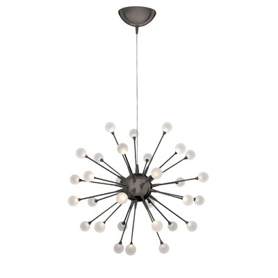 Leonel Single Tier LED Sputnik Chandelier