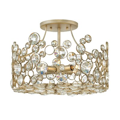 Anya 4-Light Semi Flush Mount