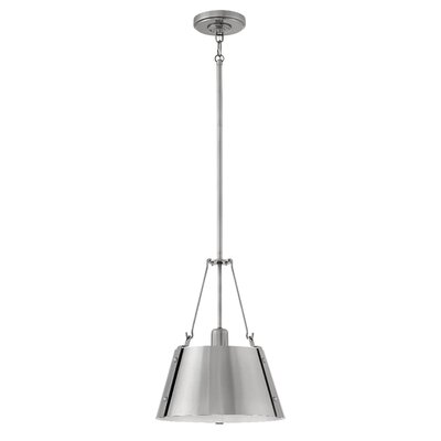 Dobbs Ferry Modern 1-Light Mini Pendant Finish: Polished Antique Nickel