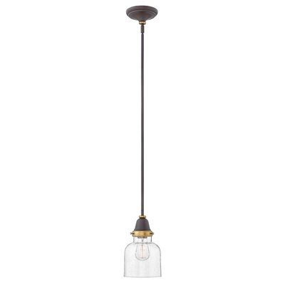 Jayda 1-Light Steel Mini Pendant Finish: Oil Rubbed Bronze