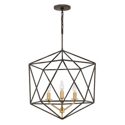 Athens 3-Light Foyer Pendant Finish: Metallic Matte Bronze