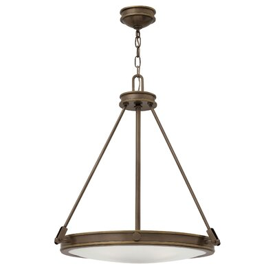 Driden 4-Light Pendant Finish: Light Oiled Bronze