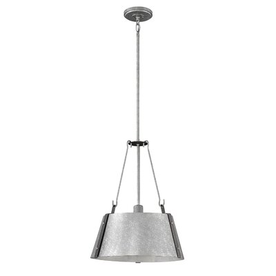 Dobbs Ferry 1-Light Mini Pendant Finish: Galvanized