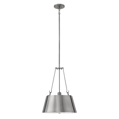 Dobbs Ferry 1-Light Mini Pendant Finish: Polished Antique Nickel