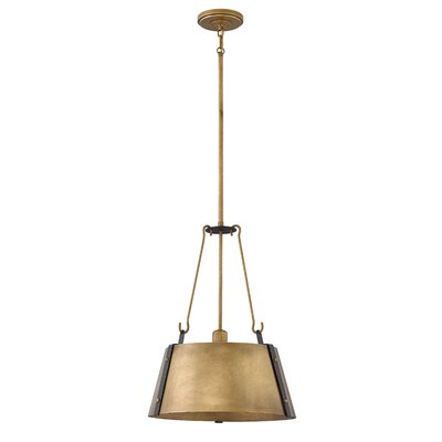 Dobbs Ferry 1-Light Mini Pendant Finish: Rustic Brass