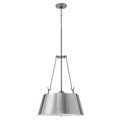 Dobbs Ferry 3-Light Inverted Pendant Finish: Polished Antique Nickel