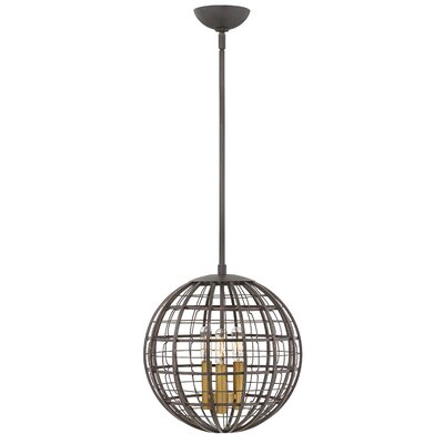 Bolger 3-Light Globe Pendant Finish: Oiled Bronze