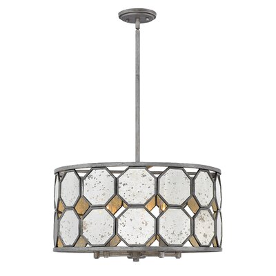 Ny (Bourail) 5-Light Drum Chandelier