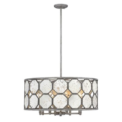 Ny (Bourail) 8-Light Drum Chandelier