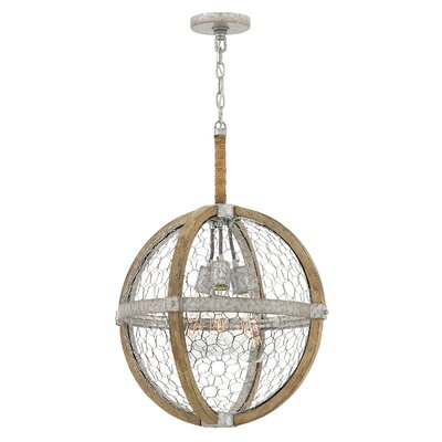 Hudson 3-Light Globe Pendant