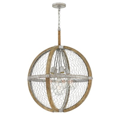 Hudson 5-Light Globe Pendant