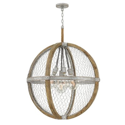 Hudson 7-Light Globe Pendant