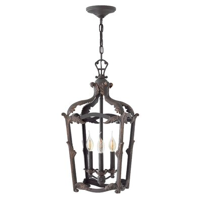 Wayland 3-Light Lantern Pendant