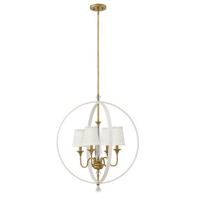 Clio 4-Light Globe Pendant