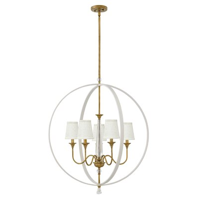 Clio 5-Light Globe Pendant