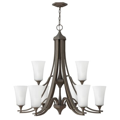 Lurganville 9-Light Candle-Style Chandelier