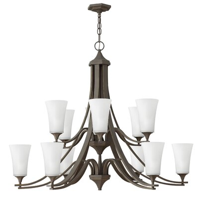 Lurganville 12-Light Candle-Style Chandelier