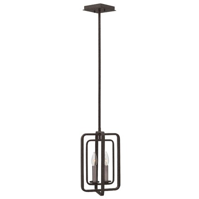 Fernando 2-Light Kitchen Island Pendant