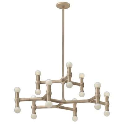 Antwon 18-Light Candle-Style Chandelier