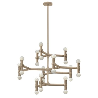 Antwon 24-Light Candle-Style Chandelier