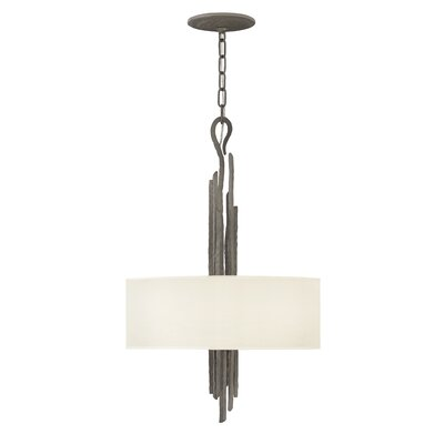 Pingree 3-Light Drum Pendant Finish: Metallic Matte Bronze