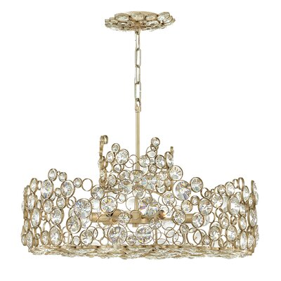 Corinna 6-Light Drum Chandelier