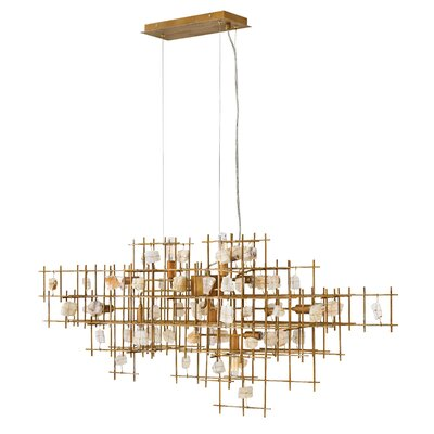 Ringsted 9-Light Geometric Pendant