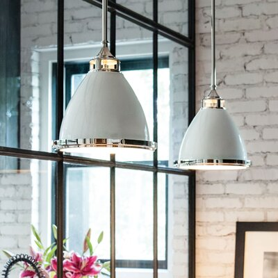Helenie 1-Light Mini Pendant Size: 46 H x 13 W x 13 D